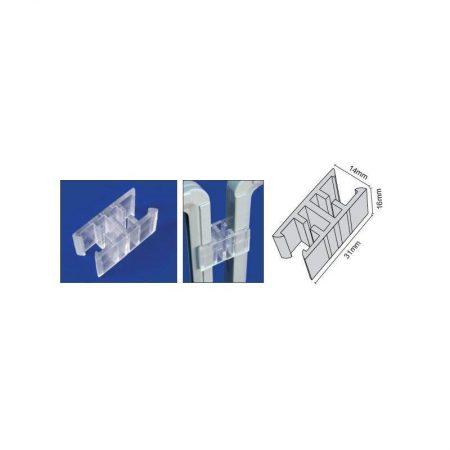 Clip unión varios marcos