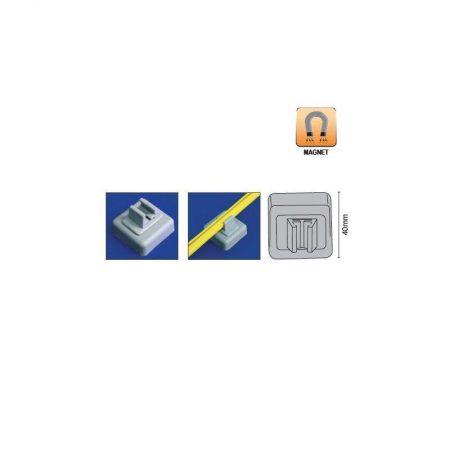 Conector magnético para marco abs