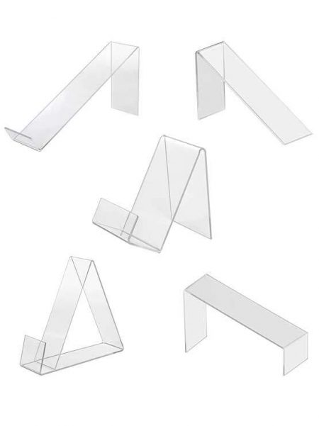 Expositores de metacrilato inclinados (cajas de 6 y 10 uds.)
