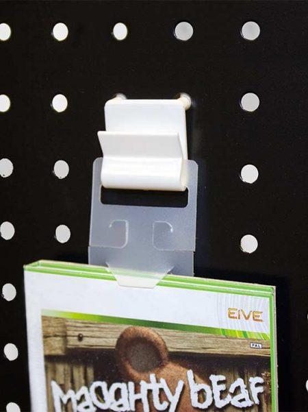 Gancho Simple Plástico (100 unidades)