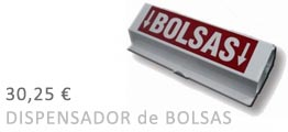 oferta dispensador de bolsas 2018