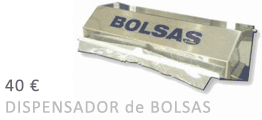 Oferta Dispensador de Bolsas Desechables