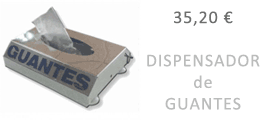oferta dispensador guantes