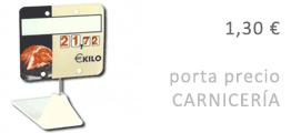 Oferta PortaPrecio Carnicería