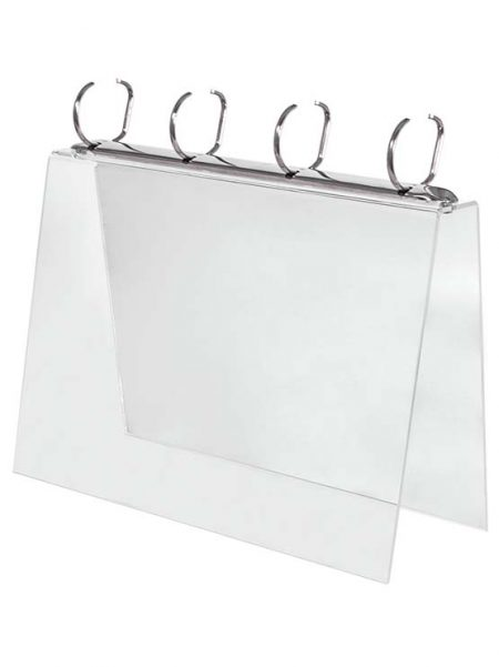 Porta Catálogos Horizontal con Anillas (2 unidades)