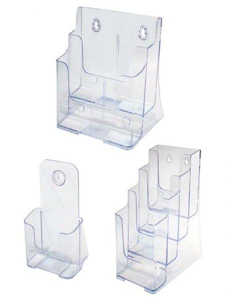 Porta Catálogos Múltiple (packs de 2, 4 y 6 uds.)