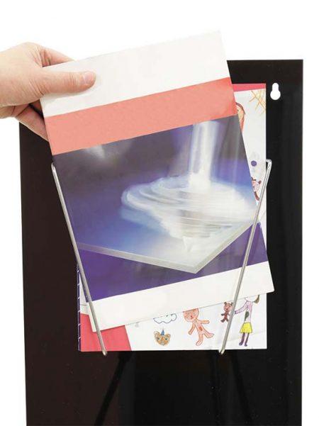 Porta Catálogos para uso de pared