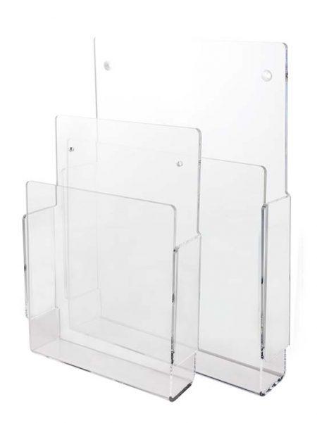 Porta Catálogo para Fijación a Pared (5 unidades)