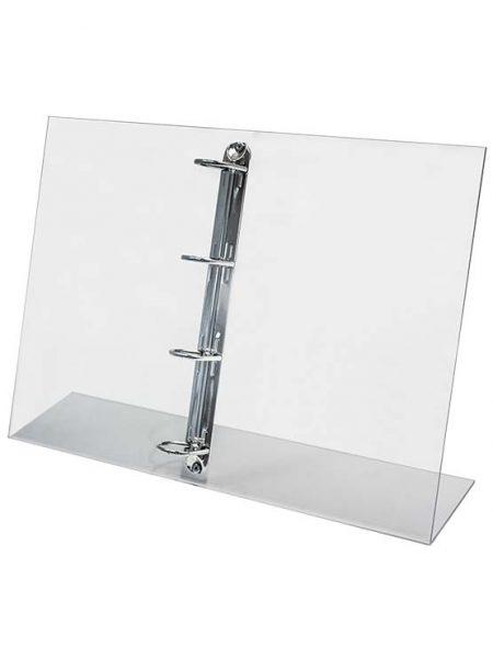 Porta Catálogos vertical con anillas (2 unidades)