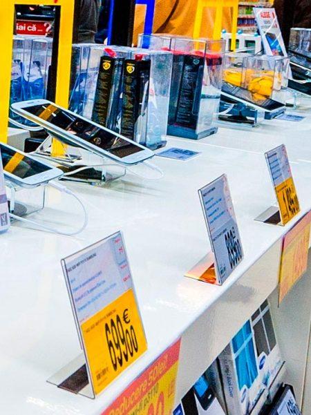 Porta Gráficas PVC con Imán (10 unidades)