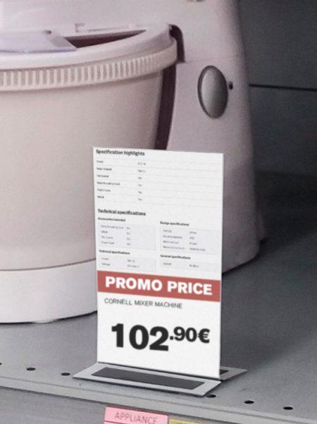 Porta Gráficas PVC a Doble Cara con Imán (10 unidades)