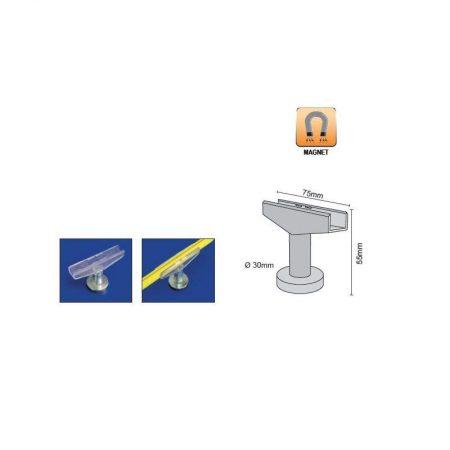 Soporte T magnético para marco de plástico