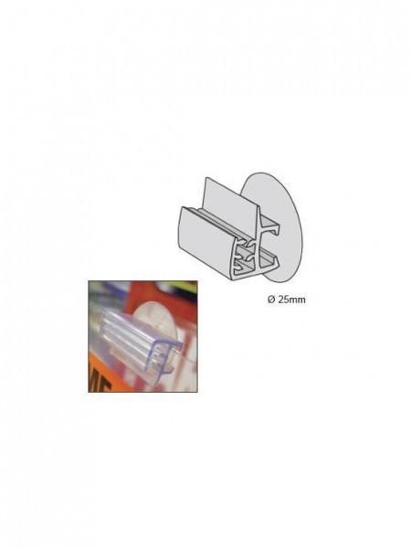 Ventosa con gripper horizontal para sujeción de carteles