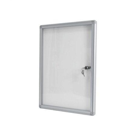 Tablón de Anuncios Blanco con cerradura