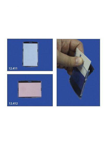 Acrylic Card Case Negra (10 unidades)