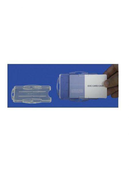 Acrylic Card Case Transparente (10 unidades)