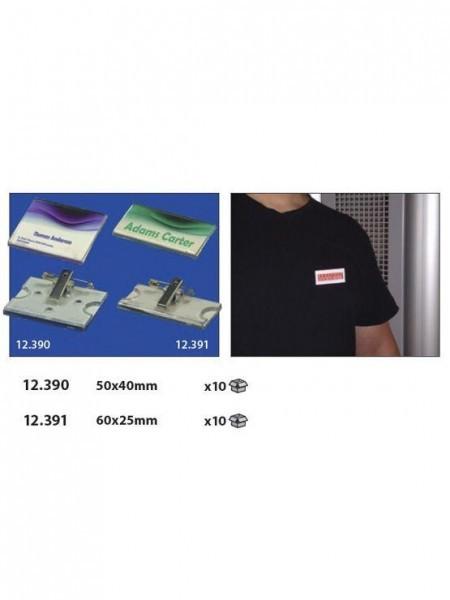 Acrylic pin para identificación de trabajadores