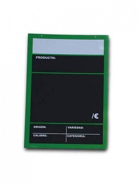 Cartel Pizarra en GlassPack