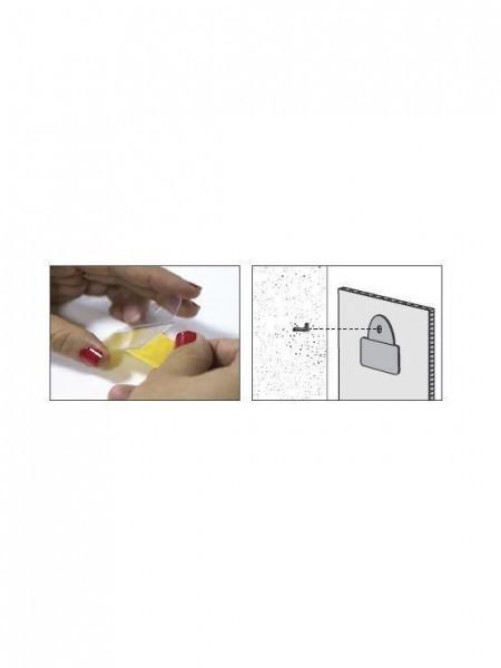 Colgador de PVC con Adhesivo