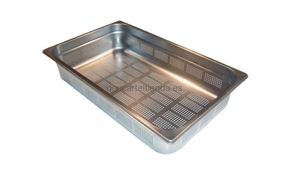Cubetas gastronorm inox perforadas fabricadas en acero for Cubetas de acero inoxidable