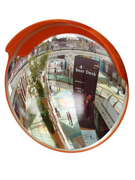Espejo convexo de seguridad tr fico para exterior e interior for Espejo esferico convexo