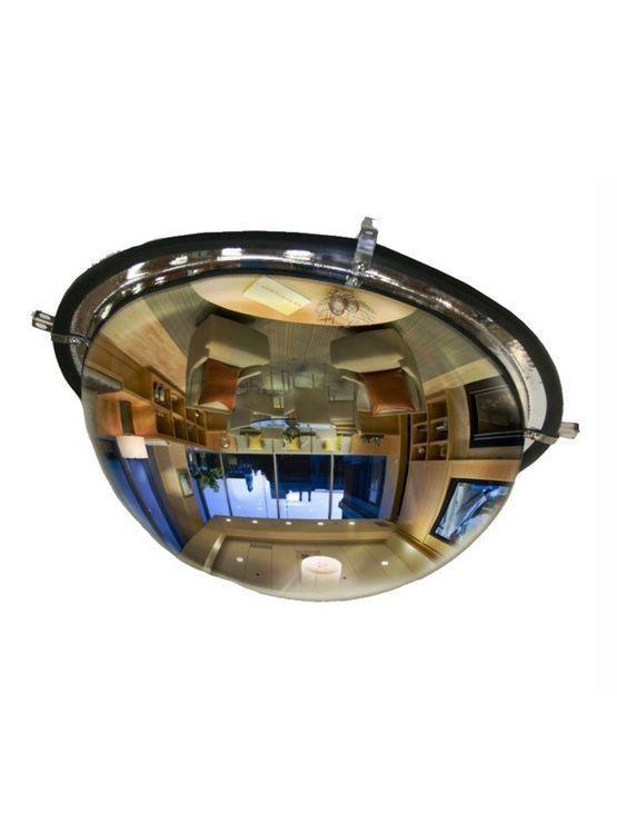 Espejo de seguridad hemisf rico para locales comerciales for Espejos de seguridad