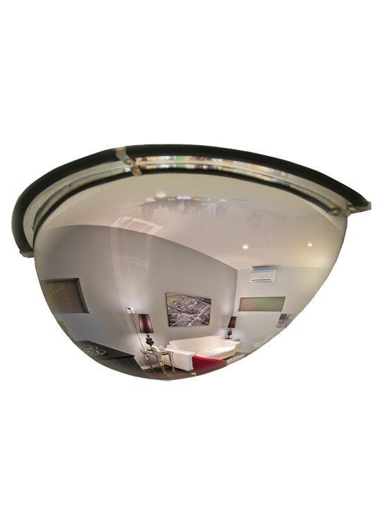Espejo de seguridad semi hemisf rico para locales comerciales for Espejo seguridad bebe