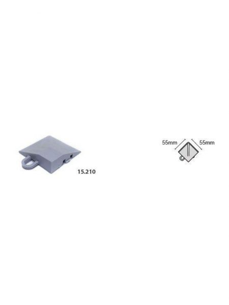 Esquinas para Suelo Modular (4 unidades)