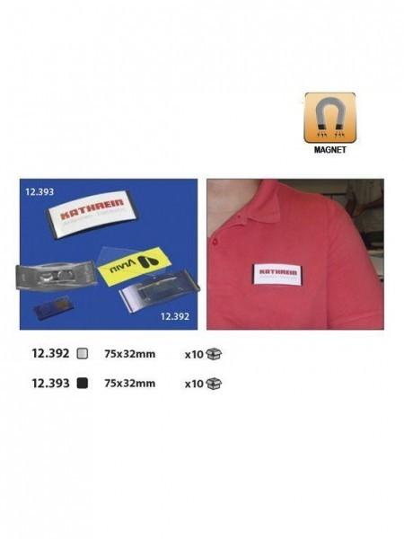 Magnet name badges para nombres de empleados