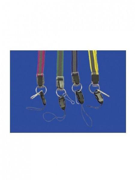 Multifuncional Dual Colour Suspension Rope para identificaciones personales