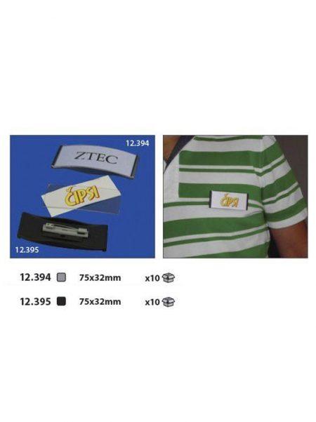 Pin Name Badges (10 unidades)