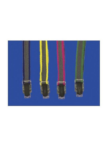 Plastic Button Dual Colour Suspension Rope (50 unidades)