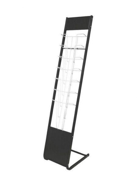 Porta Folletos Metálico de Pie modelo Baneza