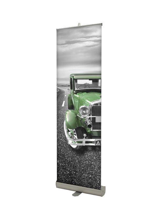 Rollup banner modelo alzira port til y desmontable for Portatil desmontable