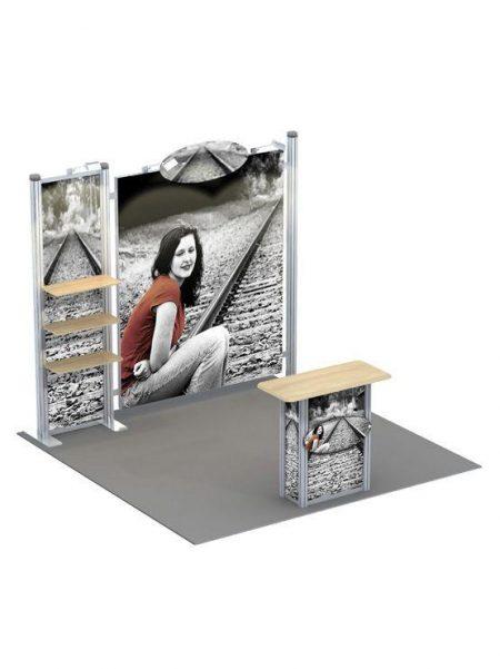 Expositor mostrador para ferias modelo Kassel