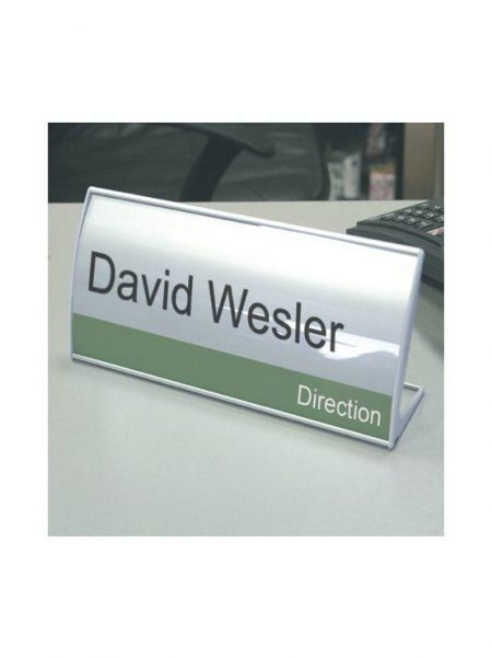 Placa Identificativa de Aluminio para Mesa