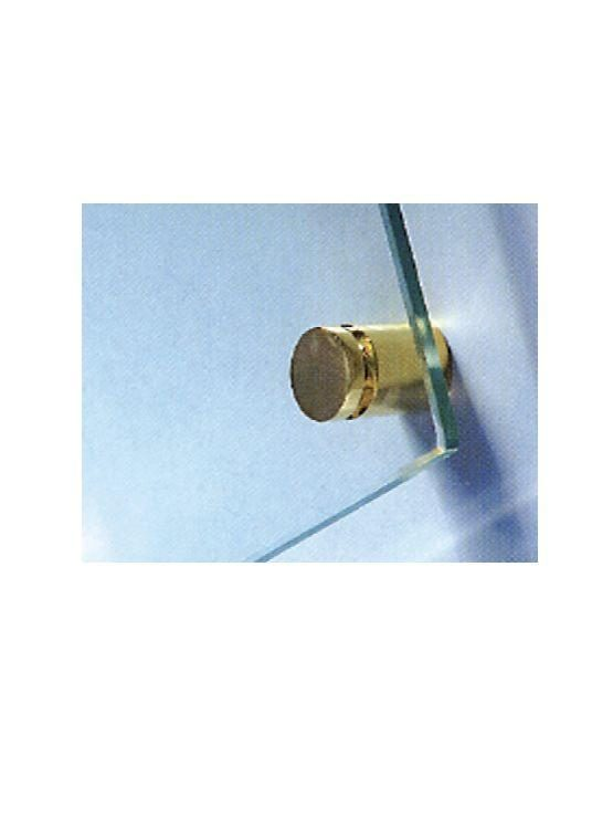 Soporte acero para paneles de cristal