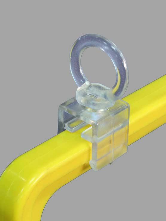 Anilla giratoria para marco porta gráficas publicitarias (20 unidades)