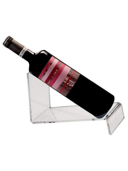 Expositor de metacrilato para botellas (5 unidades)