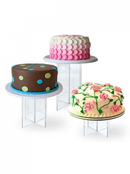 Expositor de metacrilato para tartas