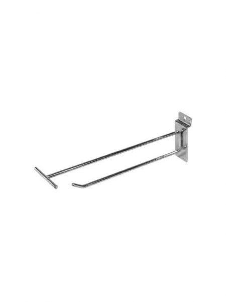 Gancho Simple metálico con T para Fondo Lama (100 unidades)