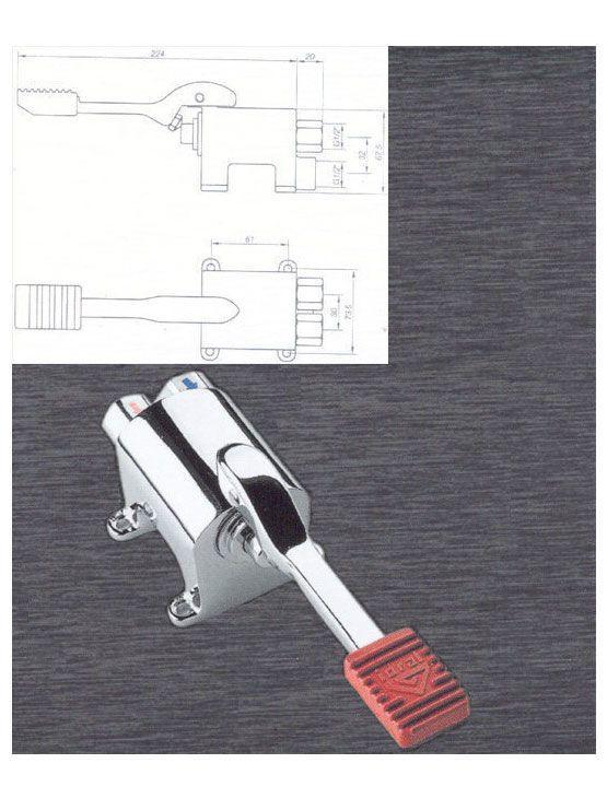 Monopedal mezclador para grifer a industrial - Griferia industrial ...