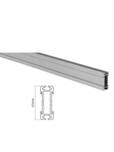 Perfil Aluminio Decorail
