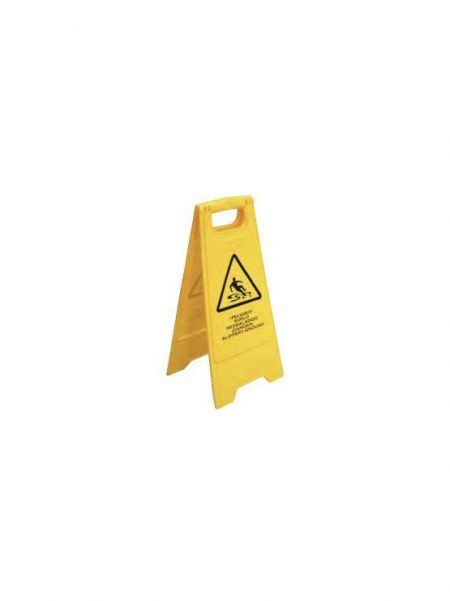 Señal Plegable Precaución Suelo Resbaladizo