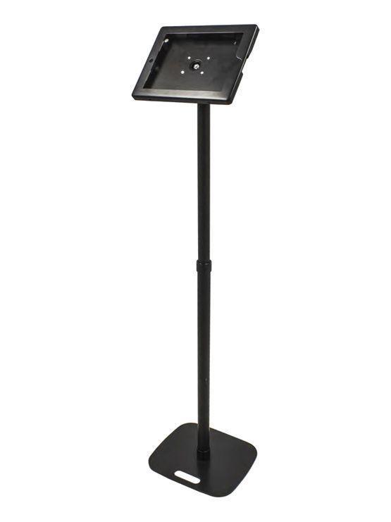Soporte para tablet ipad con cerradura pie para stand for Soporte tablet pared