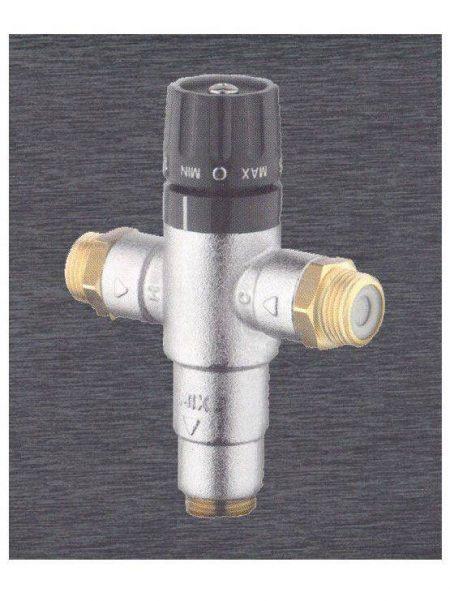 Válvula Termostática con Sistema Anti Retorno