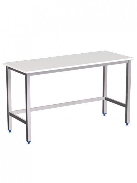 Mesas de acero inoxidable fabricamos modelos con y sin for Encimera inox