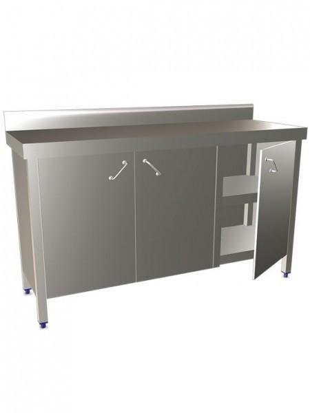 Lavamanos integral registrable con pulsador de rodilla for Mesas con puertas
