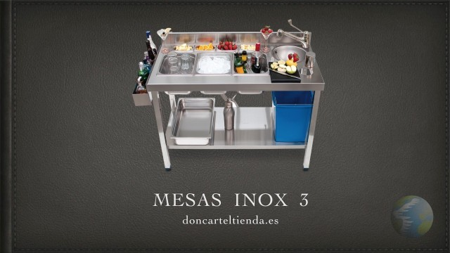 Mesas Inox 3