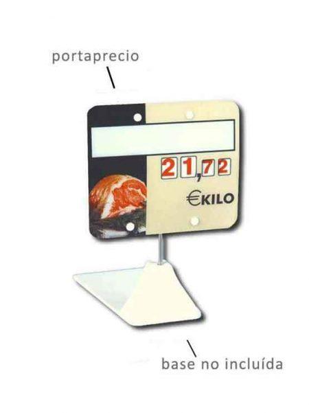 Cartel Carnicería en GlassPack con Ruedas Numéricas